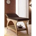 Camilla Zen. Camilla para masajes caracterizada por la combinaciónde diseño y formas armoniosas.