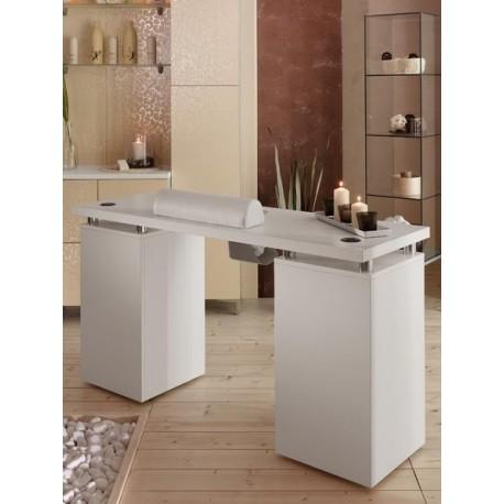 Mesa para Manicura en laminado blanco