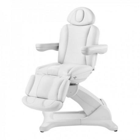 Camilla eléctrica de belleza con sillón giratorio 240º.