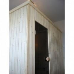 Sauna Finland Frente en Vidrio150x150x210