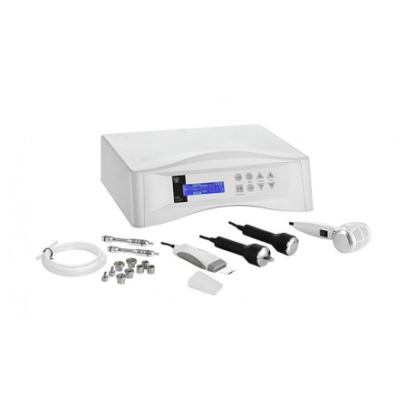 Equipo Multifunción 4 en 1 Microdermoabrasión Ultrasonidos Martillo Frío&Calor Peeling Ultrasónico