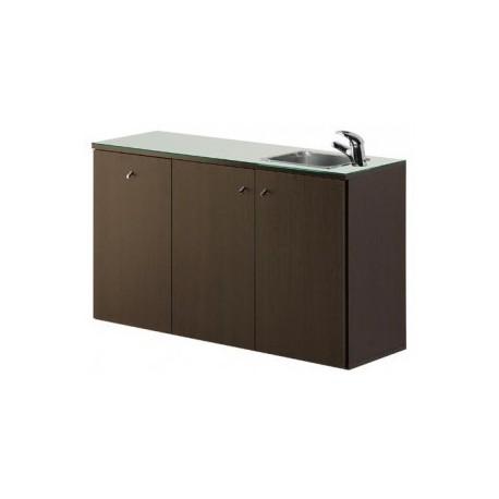 Mueble Service Centre tres módulos con lavabo